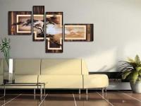 Картины в интерьере – гармоничное расположение