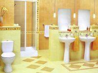 Керамическая плитка в ванной: процесс подготовки и укладки