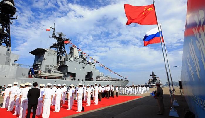 Китай и Россия начали морские учения возле Северной Кореи