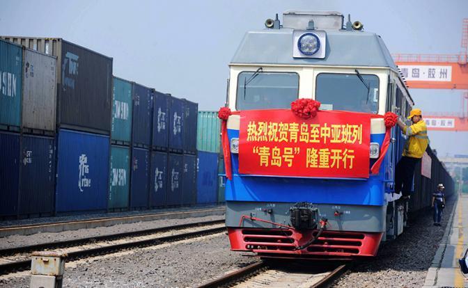 Китай отправил первый поезд в Великобританию