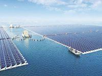 Китай построил самую большую плавучую солнечную электростанцию