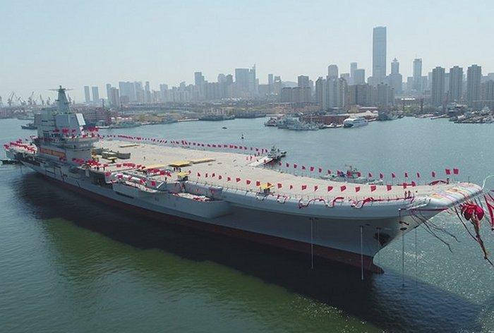 Китай представил второй авианосец (фото, видео)
