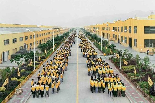 Китайская компания принуждает работников делать 10 тысяч шагов в день