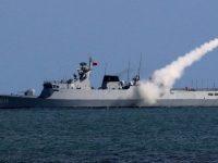 Китайский военно-морской флот проводит учения у берегов Северной Кореи