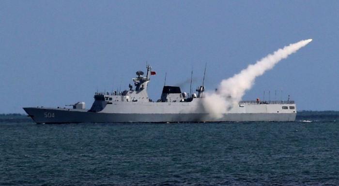 Китайский военно-морской флот начал учения у берегов Северной Кореи