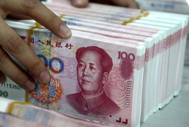 Китайский юань снова упал до 6-летнего минимума