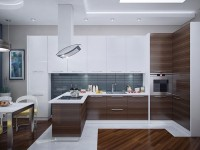 Организация обеденной зоны в современной кухне