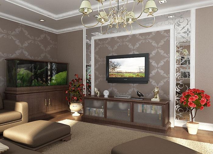 Дизайн интерьера помещений в классическом стиле