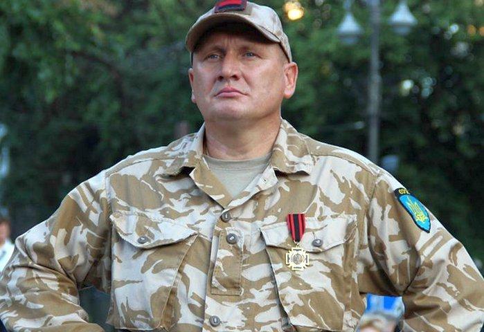 Перестрелка и протесты в Киеве: лидер ОУН Николай Коханивский получил ранения