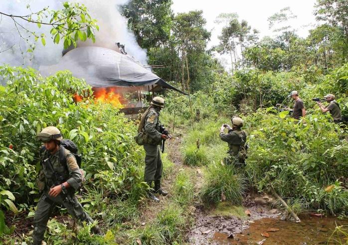 Колумбия: жители уничтожившие посадки коки получают $350 в месяц