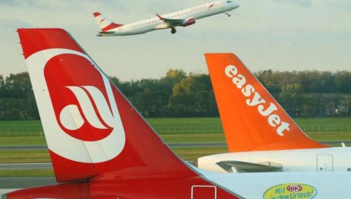 Компания EasyJet покупает часть активов Air Berlin за 40 млн евро