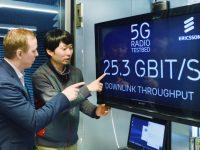 Компания Ericsson будет развертывать 5G в Китае