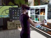 Компания Facebook представила 360-градусную панель виртуальной реальностиOculus Dash
