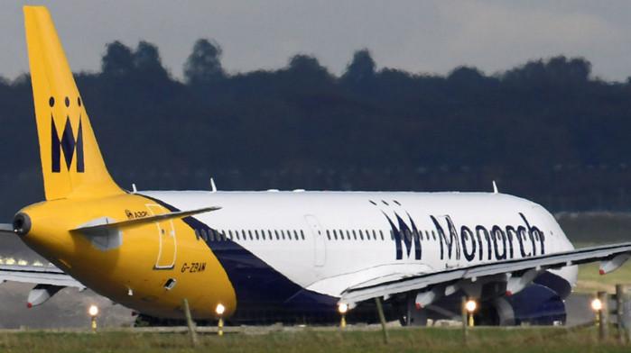 Компания Monarch Airlines отменила все рейсы
