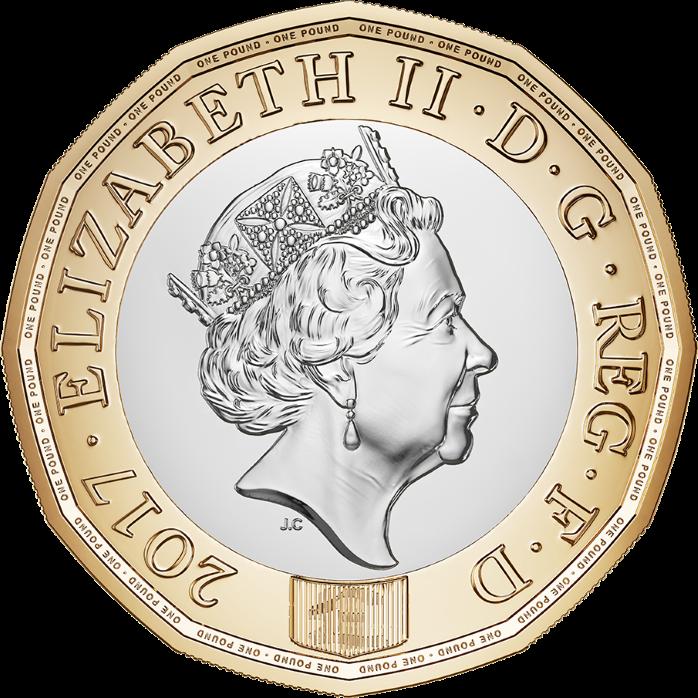 Королевский монетный двор Британии выпустит новую защищенную монету