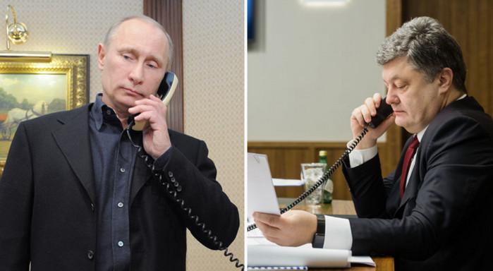 """Кремль: Путин и Порошенко имели """"секретные"""" контакты"""