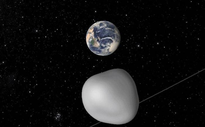 """Крупнейший астероид """"Florence"""" пролетел мимо Земли"""