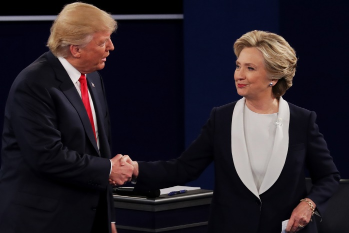 Кто дал деньги на предвыборную гонку Хиллари Клинтон и Дональду Трампу (инфографика)