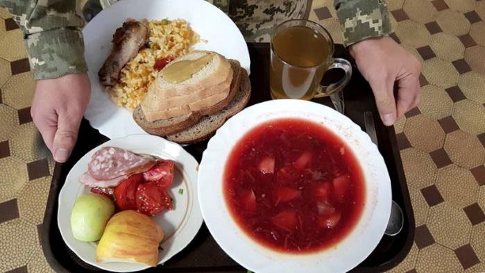 Военнослужащий, питание, еда, солдат, меню, столовая, продукты