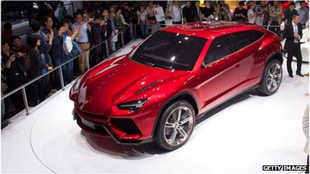 Lamborghini планирует выпуск внедорожника