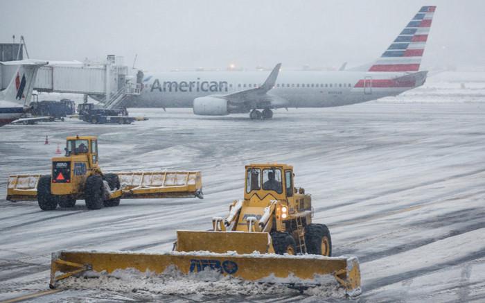 Ледяной дождь в США остановил более 7000 авиа рейсов
