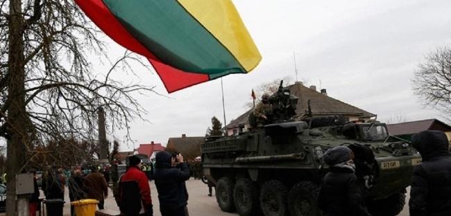 """Литва просит Евросоюз ввести """"военный Шенген"""""""