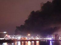 Ливерпуль в огне: на многоуровневой парковке сгорело 1400 автомобилей