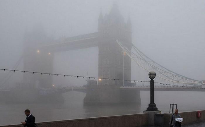 Лондон превысил годовой показатель загрязнения воздуха за пять дней