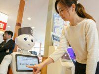 Магазины и рестораны Японии устанавливают роботов для обслуживания клиентов