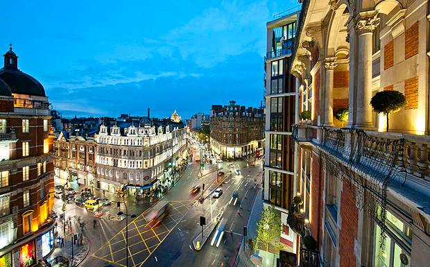 Найтсбридж, Лондон.