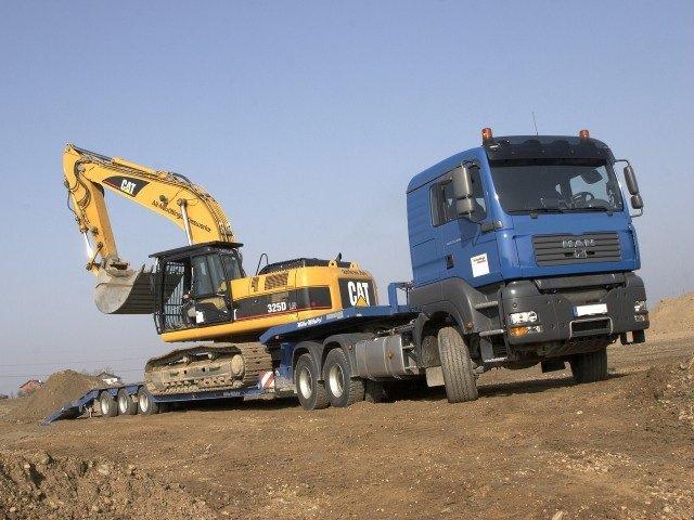 Строительные транспортные средства