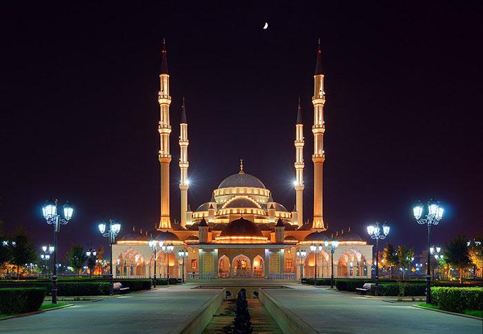 Мечеть имени Ахмада Кадырова «Сердце Чечни»