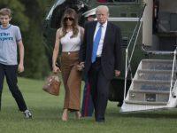 Меланья Трамп решила спилить самое старое дерево у Белого дома