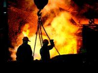 В Германии бастуют металлурги сотни заводов