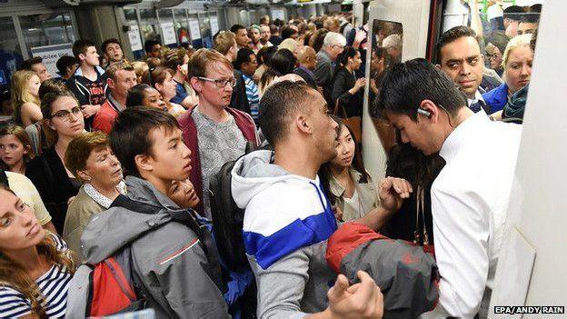 В Лондоне началась забастовка в метро