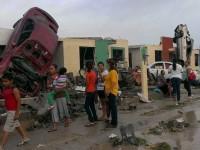 Свирепый торнадо опустошил северные границы Мексики