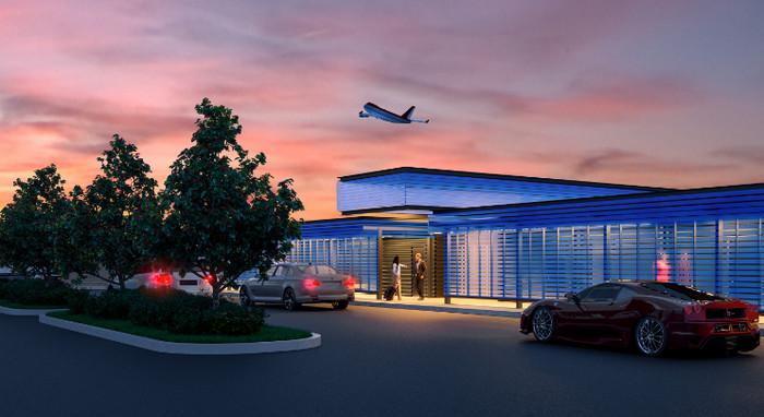 Международный аэропорт Лос-Анджелеса открыл частный терминал для богатых клиентов