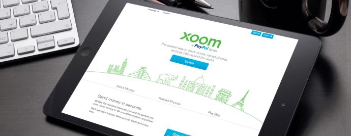 Xoom, PayPal, перевод, деньги, лимит, банк, работа, финансы