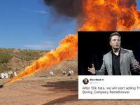 Миллиардер Илон Маск начинает продавать огнеметы