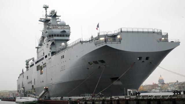 """Французские """"Мистрали"""", предназначенные для России, могут быть затоплены"""
