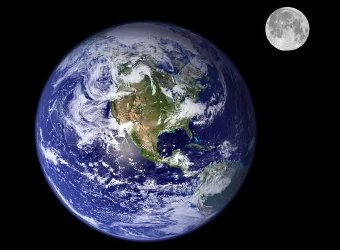 Могу ли столкнуться Земля и Луна, - исследование ученого