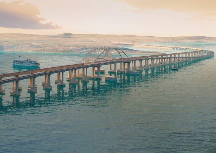 Строительство Керченского моста в аннексированный Крым оценили в $2,8 долларов
