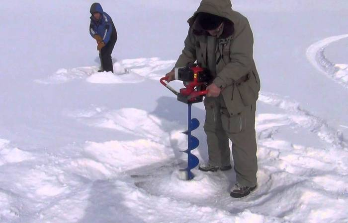 Мотобуры: зимняя рыбалка