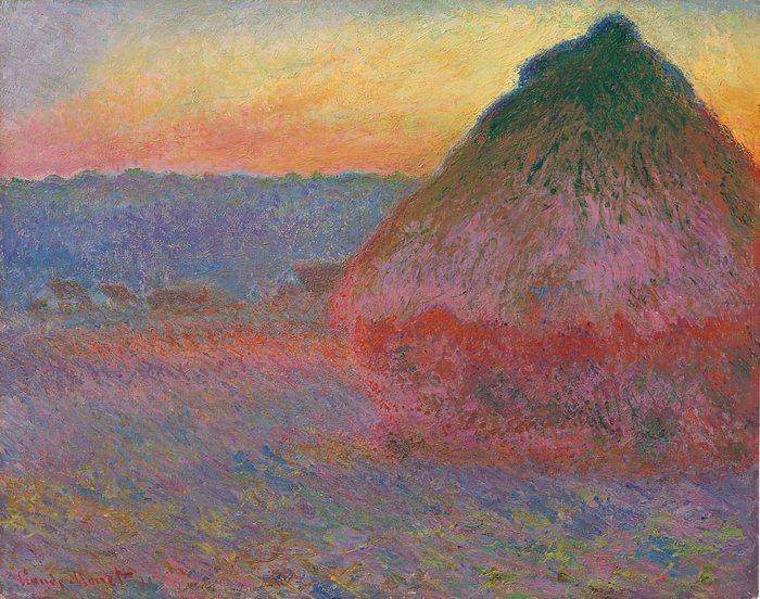 """На аукционе Christie's продана картина Моне """"Стог сена"""" за 81,4 миллиона долларов"""