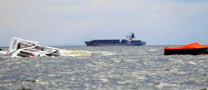 На Филиппинах опрокинулся паром с 251 человеком на борту