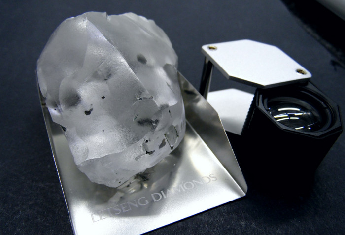 На юге Африки найден крупнейший в мире алмаз