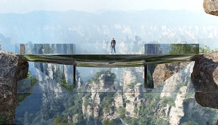 Невидимый мост будет построен в Китае (фото)