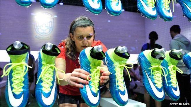 Компания Nike празднует увеличение прибыли на 24 %