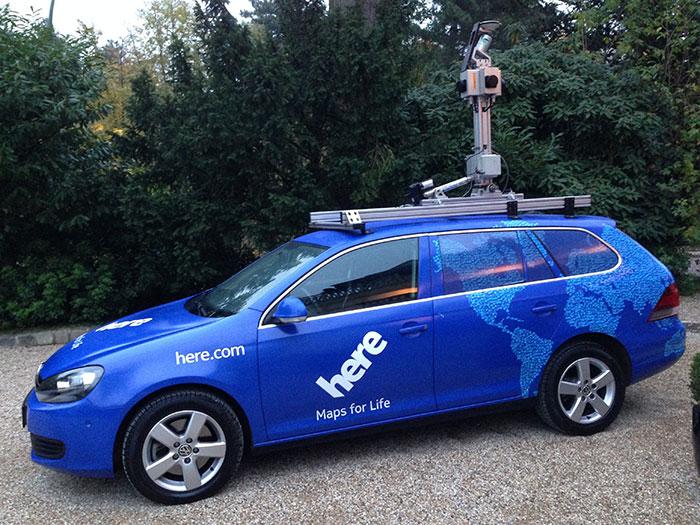 Nokia продает картографический сервис HERE за 2,8 миллиарда евро