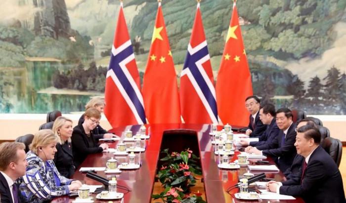 Норвегия и Китай начали переговоры о свободной торговле